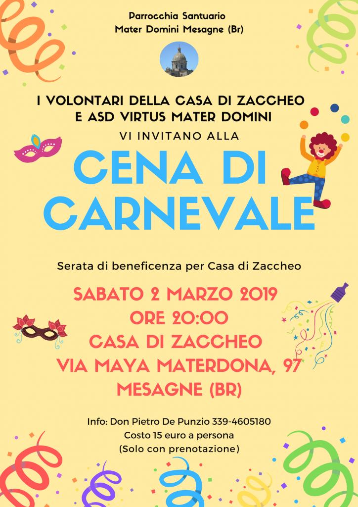 Locandina Carnevale